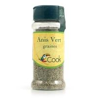 Органические семена зеленого аниса