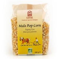 Органическая кукуруза для приготовления попкорна