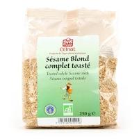 Органические жареные семена белого кунжута