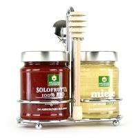 Набор: мед акации и клубничный джем