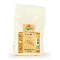 Белая пшеничная биомука Т55 для кондитерских изделий