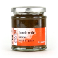 Джем из зеленых томатов с вербеной и ванилью