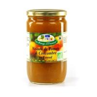 Органический суп из огурцов и томатов с добавлением фенхеля Ecocert