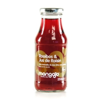 Освежающий напиток Mangajo со вкусом чая сорта Ройбуш и ароматом винограда