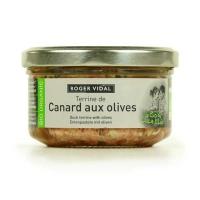 Органический утиный паштет с оливками