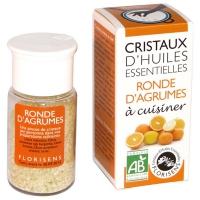 Органическое кристаллическое эфирное масло цитрусовых