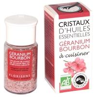 Органическое кристаллическое эфирное масло герани
