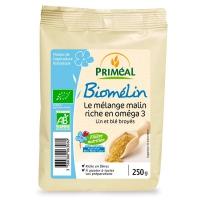 Органический биомелин из муки пшеницы и льна