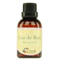 Органическая розовая ароматическая вода